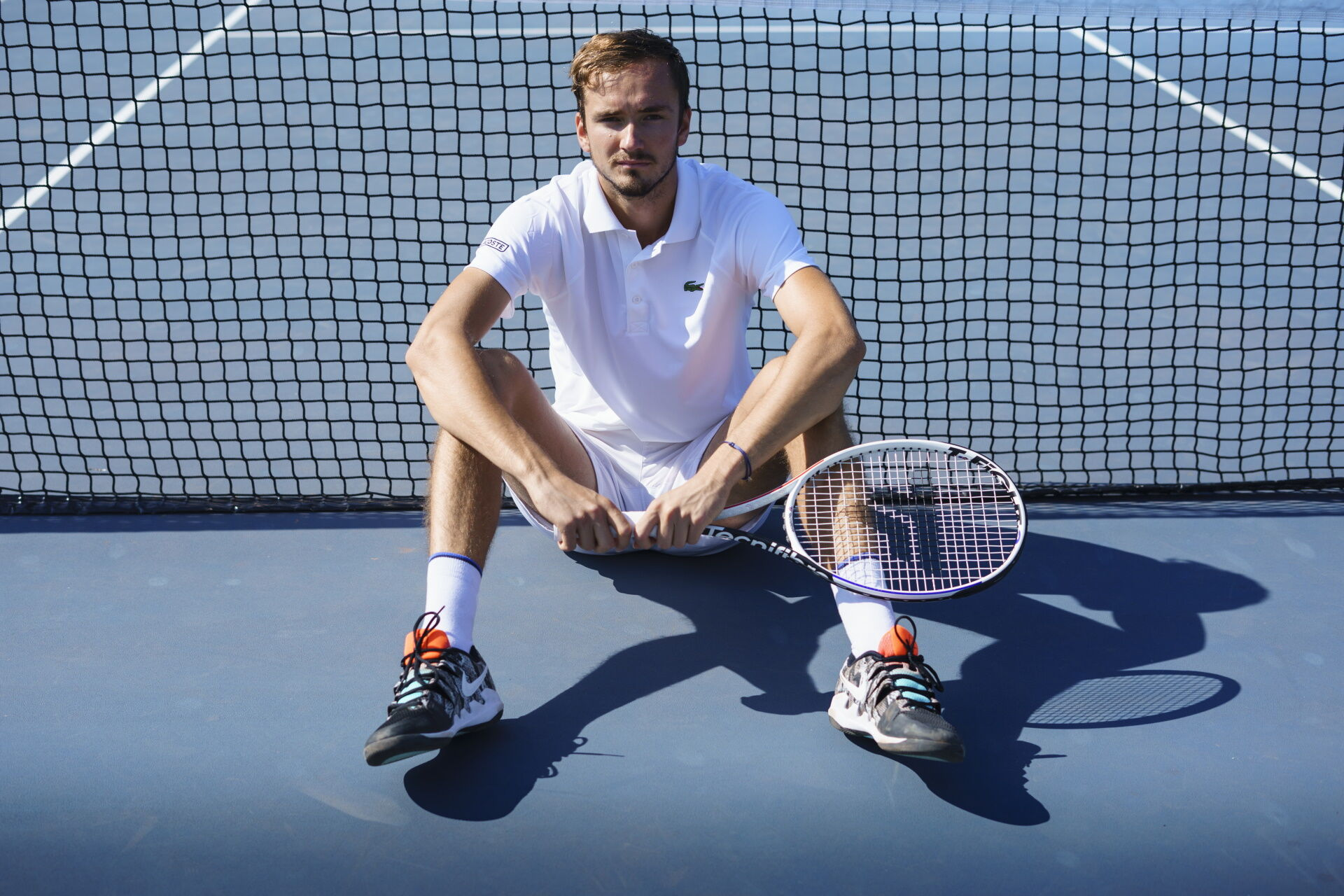 Daniil Medvedev és a Tecnifibre TFight 305 RS teniszütő